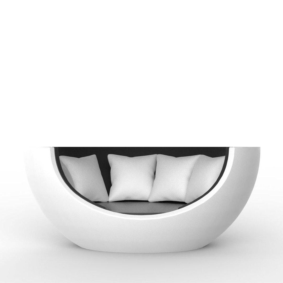 Transats design jardin & piscine ULM MOON, H93cm VONDOM