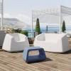 Mobilier de jardin design & lumineux SUGAR, H46cm LYXO DESIGN