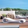 Transats design jardin & piscine SLICE, H52cm LYXO DESIGN